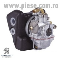 Carburator + filtru aer complet originale moped Peugeot 103 SP - MVL - Vogue 2T AC 50cc (Gurtner GA12R247)