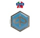 Sigla Piaggio (hexagon 32 mm) - prindere 2 cleme