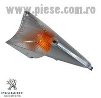 Semnalizare spate dreapta transparenta originala Peugeot Speedfight 2 AC - Speedfight 2 LC - X-Fight - X-Race - X-Fight 2T 50-100cc
